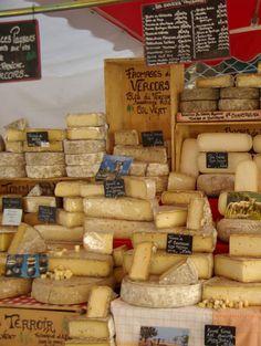 Les meilleurs fromages français
