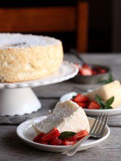 Citrus angel food cake recipe