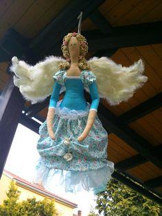 1m veká Tilda na zavěšení......anděl v letu :-)