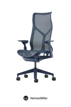 Create a comfortable, beautiful office with Cosm—now available with height-adjustable arms in the chair's signature Dipped-in-Color aesthetic. Ideal for spaces across the floorplan—from collaborative settings to individual workstations—this office chair comes in six colors. Choose from three saturated Dipped-in-Color options or three neutrals to brighten office workspaces. Home Office Chairs, Office Workspace, Sayl Chair, Comfortable Office Chair, Ergonomic Chair, Executive Chair, Modern Desk, Small Office, Chair Pads