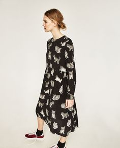 PRINTED DRESS-NEW IN-WOMAN | ZARA United Kingdom