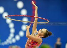 Arina AVERINA (Russia) ~ Hoop @ World Challenge Cup Pesaro-Italy 2017/09/02   Photo by Enrico Della Valle (Italy).