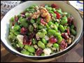 Edemame & Cranberry Salad with Walnuts