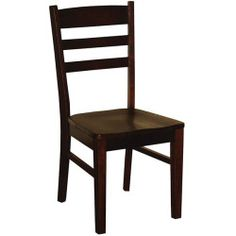 Rustic Santa Fe Crossback Dining Chair This comfortable, upholstered dining chair features a double crossback design and sturdy bottom supports for years of enjoyment. The seat is a made from a durable suede microfiber.