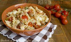 Pasta fredda con fagioli e tonno, ricetta estiva