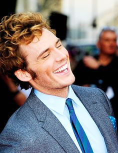 Sam Claflin: Your laughing is adorable
