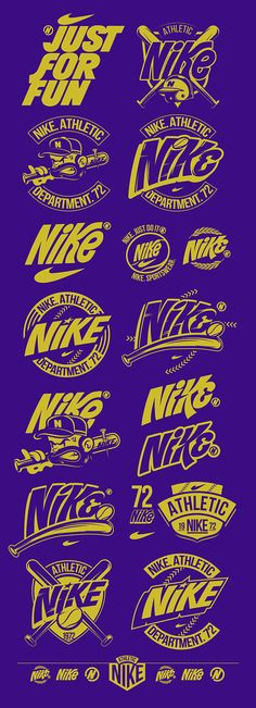 NIKE. ATHLETIC DEPARTMENT. 72 by MGNG !, via Behance