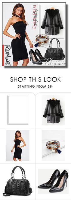 """ROMWE 1 / XVII"" by ozil1982 ❤ liked on Polyvore featuring Bomedo"