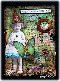 Whimsy from Maj1309.blogspot.co.uk m-1309 ATC # 9