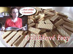 Griliášové řezy / Helenčino pečení - YouTube