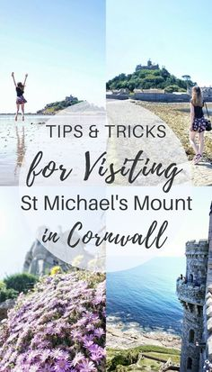 Practical Advice & Tips for Visiting Saint Michael's Mount Tricks and tips for visiting St Michael's Mount, Cornwall, England Saint Michael, St. Michael, Cornwall England, Devon And Cornwall, Yorkshire England, Yorkshire Dales, Travel Tips England, Europe Travel Tips, Travel Uk