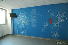 Décoration murale pour hôpital de la Timone by Mel et Kio