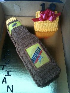Medalla beer cake by Dulce Galeria