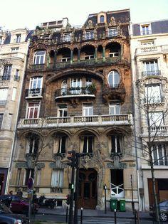 Immeuble Art Nouveau Avenue Rapp (Lavirotte architecte)
