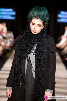 Michaela Mazalanova - Bratislavske modne dni - Spring 2013 Goth, Hair Makeup, Spring, How To Make, Outfits, Style, Fashion, Clothes, Moda
