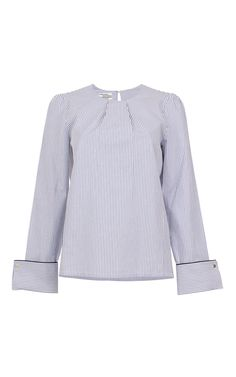 Manjari Cuffed Blouse by BAUM UND PFERDGARTEN for Preorder on Moda Operandi