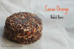 Homemade Nakd Cocoa Orange bars recipe - ¼ cup dates ¼ cup raw almonds/almond meal 1 tbsp + 1 tsp sultanas 1 tbsp cocoa Coursely ground peel of ½ orange