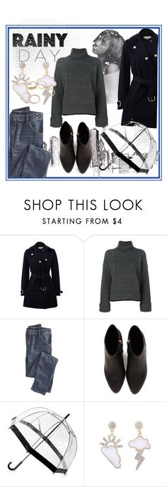 """""""Rainy Day I"""" by sophy-b on Polyvore featuring moda, STELLA McCARTNEY, Dsquared2, Wrap, Alexander Wang e Saks Fifth Avenue"""