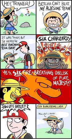 Pokémon - Address your weaknesses, folks. Address your weaknesses.