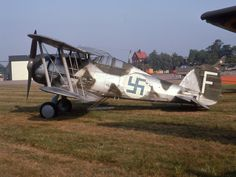 Gloster Gladiator in Finnish colours