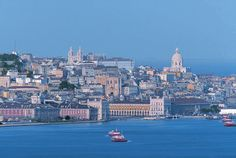 PICTURE OF THE DAY FOR JUNE 5TH: Lisbon Portugal. This one of the most beautiful views of the city I've seen and taken from the south side of the Tagus river.