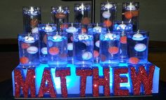 Bar mitzvah candle lighting display party perfect boca raton fl 1 multi sports candle lighting aloadofball Image collections