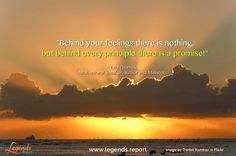 """""""Behind your feelings there is nothing,...but behind every principle there is a promise!"""" - Eric Thomas, Motivational Speaker, Author and Minister.  Get excited by life @ http://www.legends.report"""
