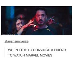 YOU'RE FRIENDS WITH RDJ?