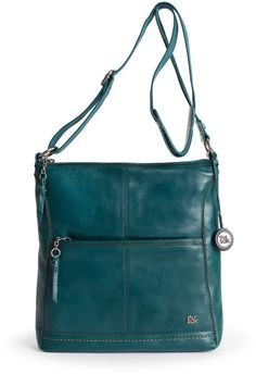 Purchased my first Sak at Macy's downtown yesterday. Love this color. Hoping to build an autumn/winter wardrobe around it -- thinking deep browns, cream, accents of celery green.The Sak Iris Leather Crossbody Bag