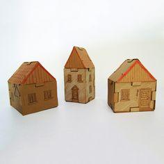 Cardboard Blocks Mini Set as seen on www.roso.co.nz