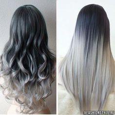 Серый цвет волос – главный тренд 2015 года
