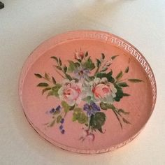 Pink tray - we had one very similar