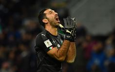 Download wallpapers Gianluigi Buffon, goalkeeper, footballers, Juventus, football stars, Juve, Italy, Serie A