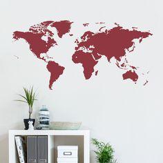 World Traveler Wall Decal