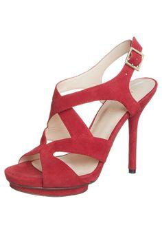 Nine West - BYMYSIDE - Sandalen met hoge hak - Rood