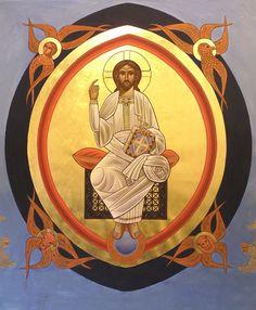 Christ - Pantocrator by Dr Stephane Rene