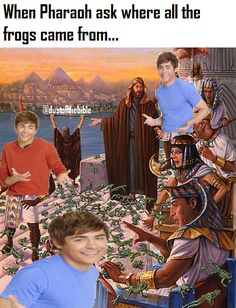 How did all these frogs get here Moses dank christian meme Bible Photos, Bible Pictures, Jesus Pictures, Religion, Moses Bible Crafts, Bible Illustrations, Biblical Art, Christian Humor, Bible Teachings