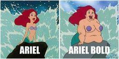 Typographic Joke. Ariel Bold