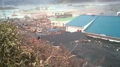 東日本大震災 大船渡の津波 JAPAN TSUNAMI 2011.3.11