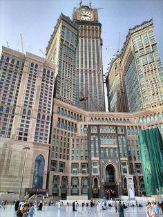 Tower King Abdul Aziz in Makkah, Saudi Arabia