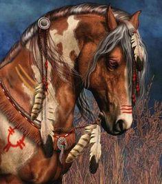 warrior horse