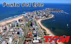 Novos voos TAM para Punta Del Este a partir de julho #tam #noticias #puntadeleste