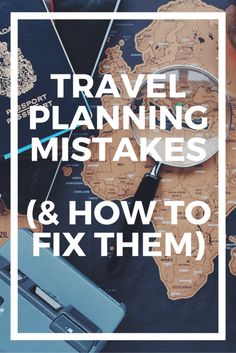 Yup, I'm definitely guilty of some of these travel planning mistakes. Here is some really great advice to make trip planning waaaaay easier!