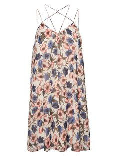 Floral printed dress from VERO MODA. Perfect for summer!