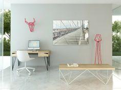 Методом прута >> Мебель по мотивам металлоконструкций от молодого бренда из Харькова.  #promdesign, #Kharkiv, #table, #chair, #lamp, #furniture, #russiandesign, #interior