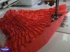 Как шить ниткой резинкой Технология пошива с использованием нитки резинки Кройка и шитье Видео урок - YouTube