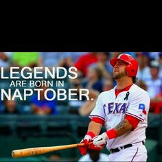 My new FAVORITE Texas Ranger... Mike Napoli