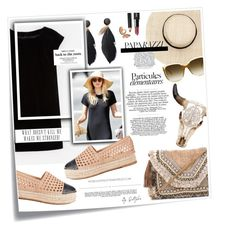 """""""..Made Me Stronger"""" by q-styles ❤ liked on Polyvore featuring Post-It, Boden, Shashi, Loeffler Randall, Whiteley, Bobbi Brown Cosmetics and blackdress"""