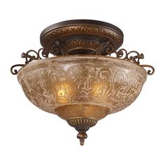 A grouping of ceiling lighting developed with a discriminating concern for preserving historic lighting and architectural designs. This offering of expert restoration and replication fixtures is offered in a wide variety of styles and sizes.