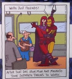 Iron Man and Magneto